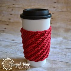 These Free Crochet Coffee Cozy Patterns Will Make Your Morning Complete