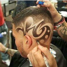 autoloanforless --is the EZ way of financing your dream car. Haircut Designs For Men, Hair Designs For Boys, Cool Hair Designs, Short Hair Cuts, Short Hair Styles, Shaved Hair Designs, Hair Patterns, Cool Mens Haircuts, Hair Tattoos