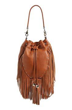 dolce vita brown fringe bag from @nordstrom #nordstrom
