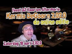 Kermis De Goorn 2020 de Online Editie #Kermis #degoorn #onlinekermis #Fe... Youtube, Youtubers