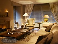 Nicky Goossens Interior And Exterior, Interior Design, Living Rooms, Curtains, Nice, House, Home Decor, Style, Neutral Colors