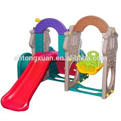 plastic swing and slide for the baby at home #At_School, #Families