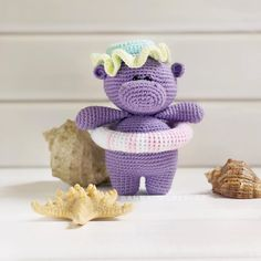 In this article I will share with you amigurumi hippo free crochet pattern. You can find the most updated amigurumi recipes on our website. Crochet Patterns Amigurumi, Crochet Dolls, Knitting Patterns Free, Free Pattern, Crochet Hippo, Crochet Teddy, Free Crochet, Amigurumi Doll Pattern, Stuffed Toys Patterns