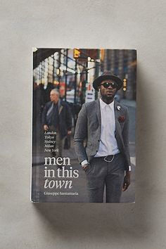 Men In This Town #anthropologie $19.99 Weird, Cool, Random for my coffee table conversation starter