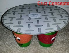 Tmnt ninja turtle party theme decor centerpiece   For sale used,  I also take custom orders, contact me!