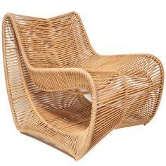 Rope Finds: Scenario Home Modern Rope Indoor/Outdoor Lounge Chair   http://CoastalLiving.com