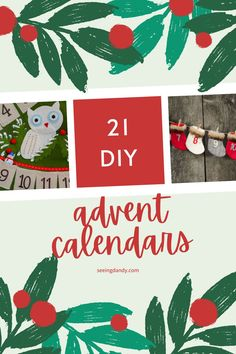 These Christmas advent calendar ideas are all DIY and easy to make. The perfect way to decorate for the holidays! #diy #christmas #holidays #christmasdecor #farmhousestyle #advent #adventcalendar #christmasdecorations Christmas Crafts For Kids To Make, Homemade Christmas, Simple Christmas, Holiday Crafts, Christmas Decorations, Christmas Holidays, Christmas Ideas, Merry Christmas, Printable Christmas Cards
