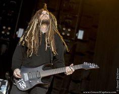 Brian Head Welch, guitar player for Korn. Photo: Dan DeSlover
