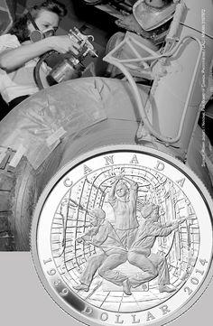 Dollar épreuve numismatique en argent fin édition limitée - 75e anniversaire de la déclaration de la Seconde Guerre mondiale