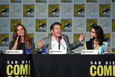 "Sean Maguire made this flawless face. | 19 Reasons The ""Once Upon A Time"" Cast Had The Best Time At Comic-Con"