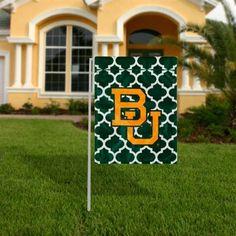 An actually CUTE Baylor Bears garden flag for your front yard!