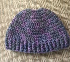 Messy Bun Hat/Pony Tail Hat,Crochet Adult hat,Man Bun Hat,Ski Hat,Hat with Hole,Winter Hat,Purple tone Hat,Messy Hair day,Jogging,Messy Bun by ArtfullyCreated4U on Etsy