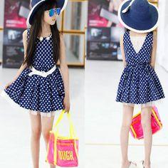 $17.54 (Buy here: https://alitems.com/g/1e8d114494ebda23ff8b16525dc3e8/?i=5&ulp=https%3A%2F%2Fwww.aliexpress.com%2Fitem%2Fsleeveless-dot-dresses-for-girls-lace-patchwork-red-blue-children-s-dresses-with-belt-spring-summer%2F32320723737.html ) sleeveless dot dresses for girls , lace patchwork red blue children's dresses with belt spring summer clothing for girls for just $17.54