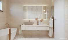 NÁVRH KÚPEĽNE - Fotogaléria, šikovné riešenia kúpeľní / BENEVA Double Vanity, Bathroom Lighting, Mirror, Furniture, Home Decor, Ideas, Bathroom Vanity Lighting, Room Decor, Mirrors