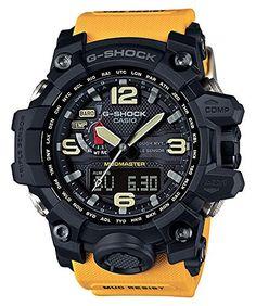 Casio G-Shock Mudmaster Black Dial SS Chrono Quartz Men's...
