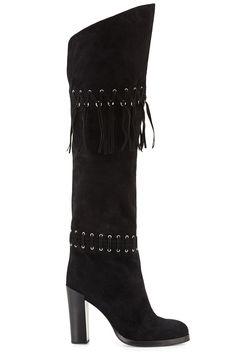 Rebecca Minkoff boot, $525, bloomingdales.com.   - HarpersBAZAAR.com