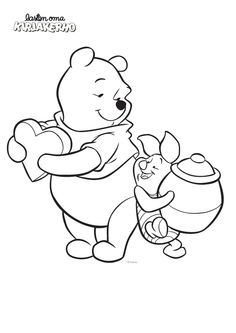 Pooh Disney Valentines Coloring Pages Valentine Cartoon, Valentines Day Clipart, Disney Valentines, Bear Valentines, Valentines For Kids, Funny Valentine, Free Disney Coloring Pages, Minnie Mouse Coloring Pages, Cartoon Coloring Pages