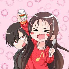 Ayumi Otosaka and Yuu Otosaka -Charlotte. Love this anime!