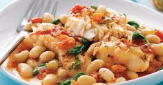 After years away, The Captain's Back. Go on a culinary adventure with High Liner Canada's Tuscan Bean and Haddock Braise recipe. http://www.thecaptainsback.ca/recipes/tuscan-bean-and-haddock-braise/