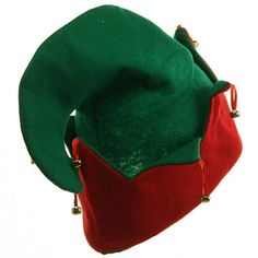 Felt Elf Hat Bells ❤ liked on Polyvore featuring hats