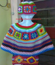 Pala colorido com bolso