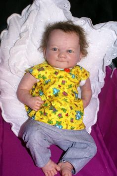 Baby Doll Top and Pants - http://www.babies-clothes.info/baby-doll-top-and-pants.html