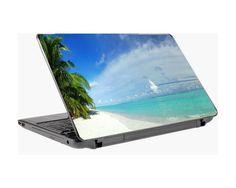 Τροπικός παράδεισος, αυτοκόλλητο laptop