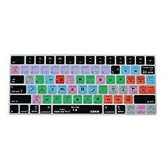 Amazon.com: XSKN Magic Keyboard Logic Pro X Shortcut Keyboard Cover, XSKN Durable Logic Hotkeys Silicone Keyboard Skin for Apple Magic Keyboard MLA22LL/A, US version: Computers & Accessories