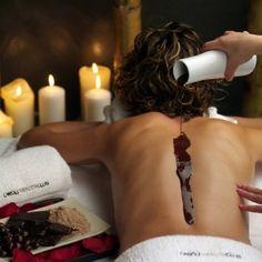 Chocolaterapia. Tratamiento de belleza a base de chocolate... Suculento truco para estar más guapas, ¿Verdad?