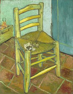 Chair by Van Gogh. From images that inspired Aldous Huxley.