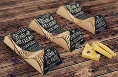 Packaging Creativo para Quesos: Violet Hill Farm || Diseñado por: Rong Yan, Estados Unidos