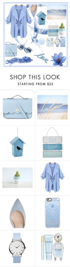 """""""Live"""" by pati22 ❤ liked on Polyvore featuring The Cambridge Satchel Company, WALL, Outdoor Oasis, At Home with Ashley Thomas, Pinko, Casetify and Marc Jacobs"""