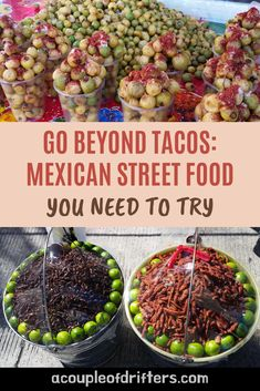 Mexican street food is so much more than just tacos. Discover regional treats and traditional foods you've never heard of. Introduce your taste buds to new fresh fruits, unique snacks and hearty meals - all from local street vendors. #mexico #mexicotravel #streetfood Mexican Street Food, Food Inspiration, Travel Inspiration, Mexico Travel, Unique Recipes, International Recipes, Foodie Travel, Places To Eat, Travel Tips