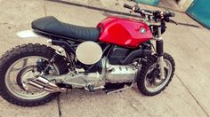 BMW k75 scrambler project cafe4racer.eu