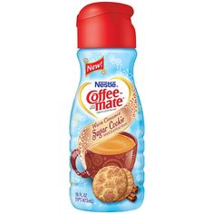One of my favorites! Coffee-Mate Warm Cinnamon Sugar Cookie Coffee Creamer - a seasonal flavor available from September until December.  *I am a member of the COFFEE-MATE Brew Crew