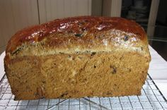 Mmmm Fruit loaf for school lunches - and after school toast with jam!