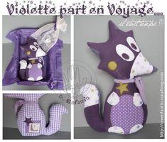 Violette La Renarde  Décembre 2010  Cré-enfantin ! C'est adorable !