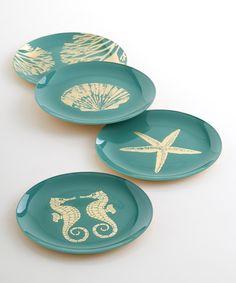 Glass Mare Plates