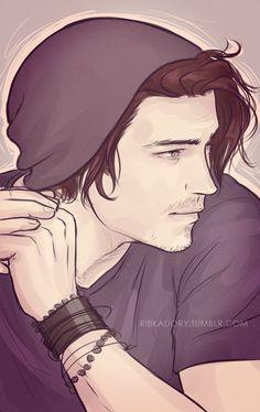 Ian by ribkaDory.deviantart.com on @deviantART . Character Drawing / Illustration