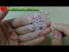 How to bead funny accessory:Embroidery Beads - YouTube