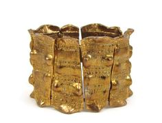 Arm Armor Vintage 1960s Modern Warrior Goddess Bracelet by OrbitingDebris, $75.00