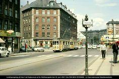 Enghavevej med linie 3 og stoppested 1967