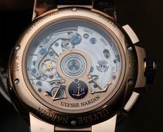Ulysse Nardin Marine Chronograph Annual Calendar Watch Hands-On