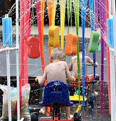 Kid carwash! Great ideas for having fun and staying cool with your family. #ChooseDreams