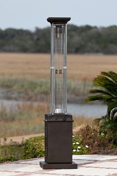 Love this Square Flame Patio Heater!  Perfect for fall and winter...outdoor parties!!!