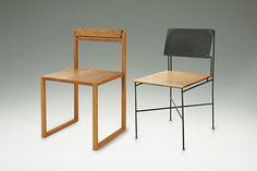 wood & Iron chair by 濱田 健慈Kenji Hamada