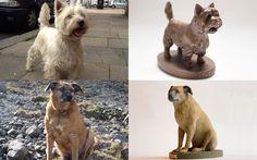£10 Off Bronze Pet Sculpture