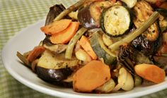 Tourlou-tourlou (Greek baked vegetables)