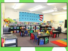 Classroom Digs - a tour of my previous classrooms