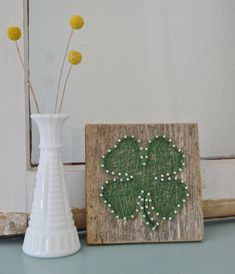 4 Leaf Clover String Art